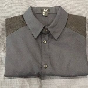 Black H&M button down